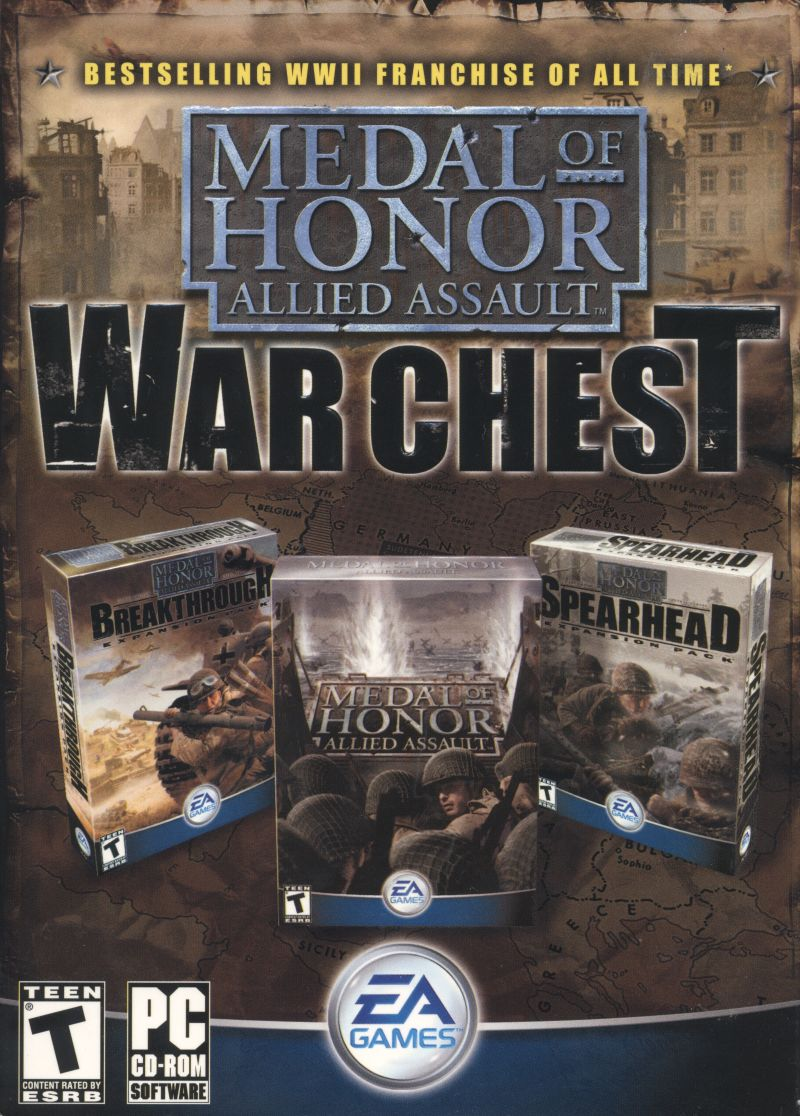 Medal of Honor: Allied Assault War Chest (2002-2003) PC | Лицензия