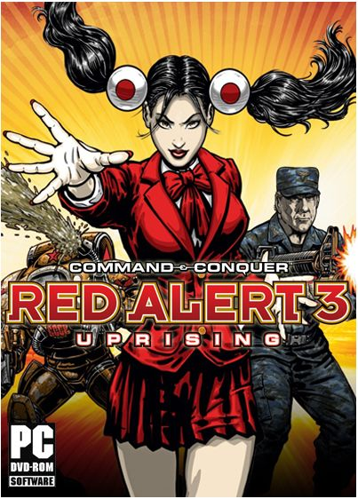 Command & Conquer: Red alert 3 - Uprising (2009) RePack от xatab