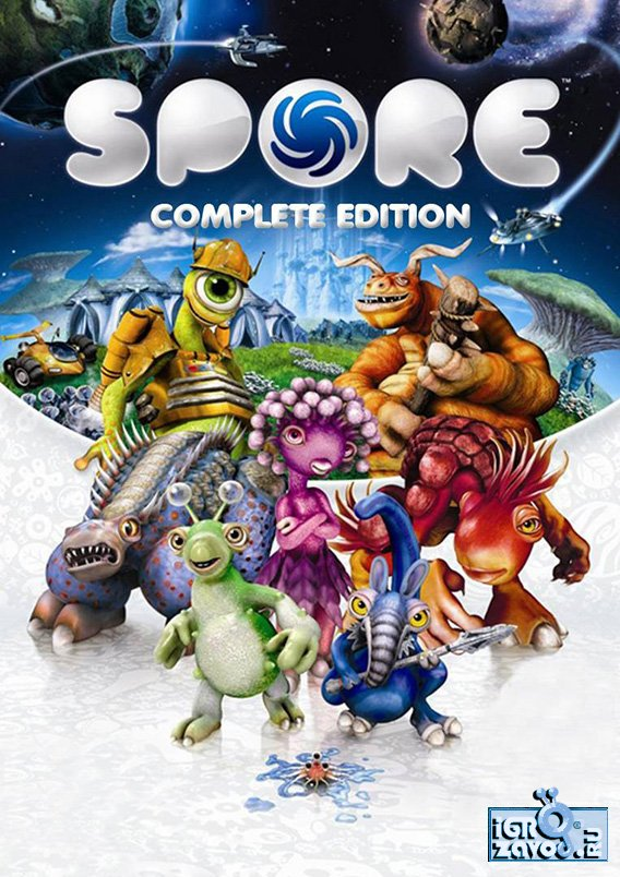 SPORE Collection v.3.1.0.22 [GOG] (2008) PC | Лицензия